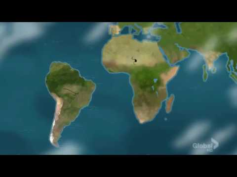 South America Breaks Away from Africa, Family Guy