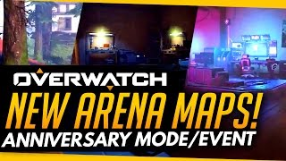 Overwatch | NEW EVENT MAPS INCOMING - Anniversary Event Gamemode?