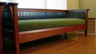 деревянный диван своими руками