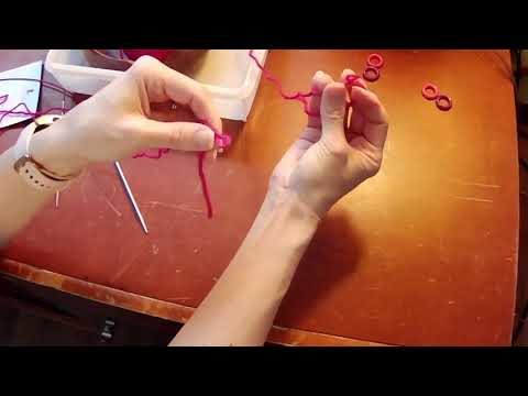 Spiral Rib Tube Sock Knitting Lesson 1