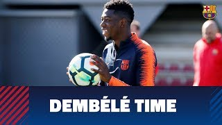 A day in the life of Ousmane Dembélé