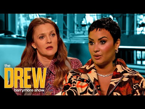 Demi Lovato and Drew Get Honest About Difficulties of Growing Up as Child Stars - The Drew Barrymore Show