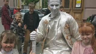 Фестиваль живих скульптур в ¶вано Франквську
