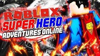 CONVERTIRSE EN UNO DE MIS SUPERHÉROES FAVORITOS NUNCA! Roblox: Super Heroes Adventures Online