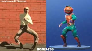 All 45 Fortnite Dances in real live 😨😨😨😨| Fortnite battle royale | Fortnite fails with boo