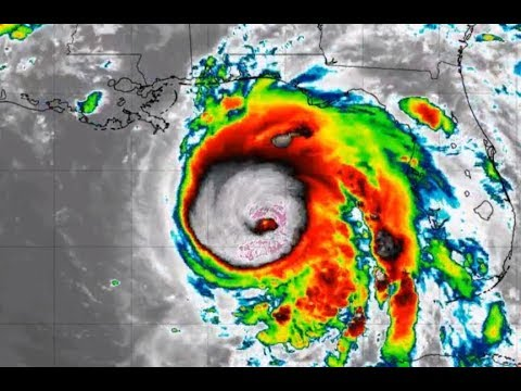 Hurricane Michael = 50 foot waves & Strong Category 4 projec