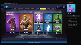 Daily item shop (Fortnite)