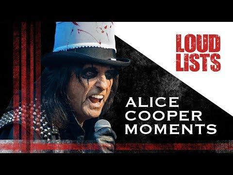 10 Unforgettable Alice Cooper Moments