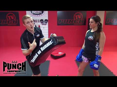 Use These Techniques To Improve Your Kick Shield Holding! Punch Equipment®