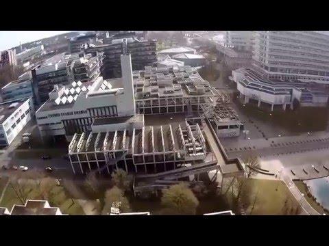 Uni Stuttgart Vaihingen Drohnenflug