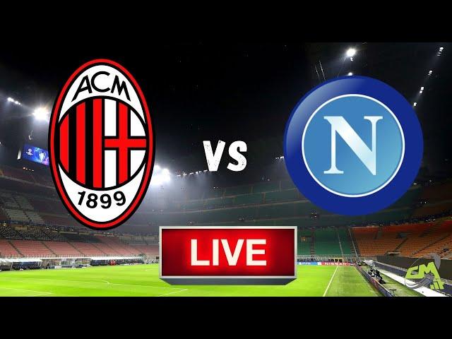 MILAN-NAPOLI LIVE! Cronaca in DIRETTA Serie A [NO Streaming]