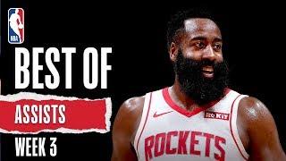 NBA's Best State Farm Assists from Week 3 | 2019-20 NBA Season