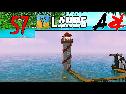 Ylands - Ep57 - New Update & Lighthouse Complete (Survival/Crafting/Exploration/Sandbox Game)