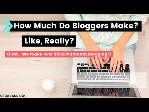 How Much Do Bloggers Make, Like, REALLY??