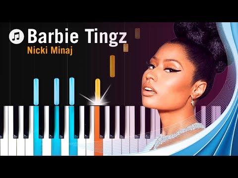 "Nicki Minaj - ""Barbie Tingz"" Piano Tutorial - Chords - How To Play - Cover"