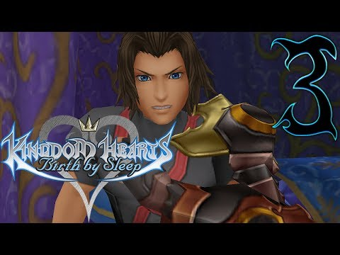 Kingdom Hearts Birth By Sleep Walkthrough Part 3 Terra Enchanted Dominion (Let's Play Gameplay)