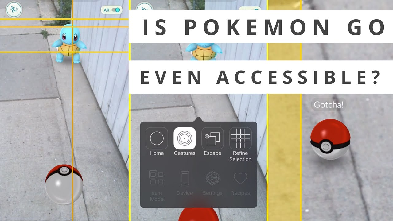 Switching on Pokémon Go for disabled gamers | AbilityNet
