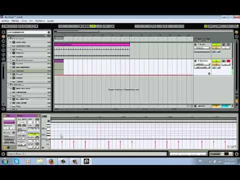 Tutorial Basico Psytrance en Ableton Live