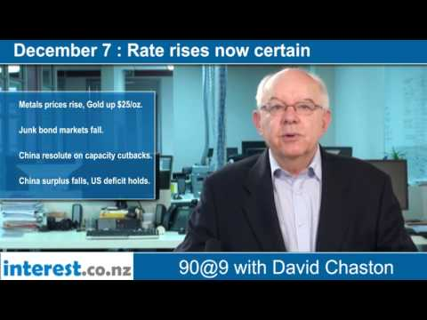 90 seconds @ 9am : Rate rises now certain