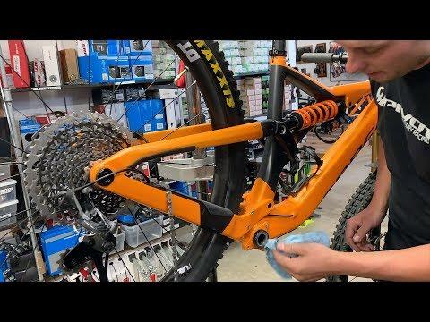Getting my bike overhauled while I'm in Italy