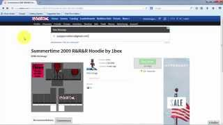 How to create your own shirt and pants on roblox (NBC) (ROBLOX)