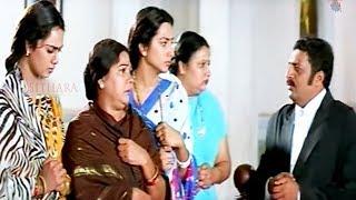 Telugu Full Comedy Movie Part -8   Brahmanandam, Kovai Sarala, Prakash Raj   Sithaara
