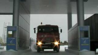 Вакуумная машина КО-505АГ на службе города Надым(Машина КО-505АГ предназначена для вакуумной очистки выгребных ям путем механизированного заполнения, транс..., 2011-03-18T10:49:20.000Z)