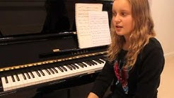 Viivi Helisalo (12 vuotta) sävelsi teoksen, joka esitetään sinfoniaorkesterin voimin