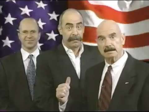 Michael Smerconish in a commercial for Talk Radio 1210 AM WPHT, 1997