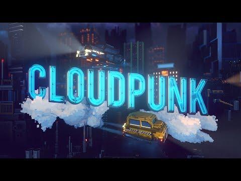 Великолепный трейлер Cloudpunk о водителе курьерской службы над облаками