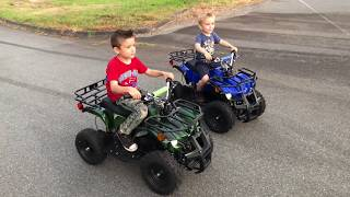 ZIMALETA Rosso Motors ATV Review, Kids ATV 800wats Electric 4 wheeler