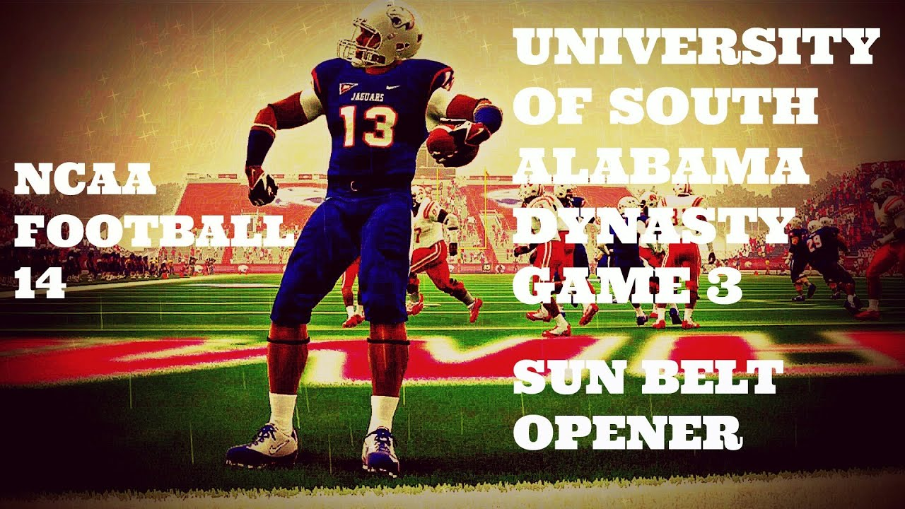 Ncaa football 14 university of south alabama dynasty game 3 ncaa football 14 university of south alabama dynasty game 3 sciox Image collections