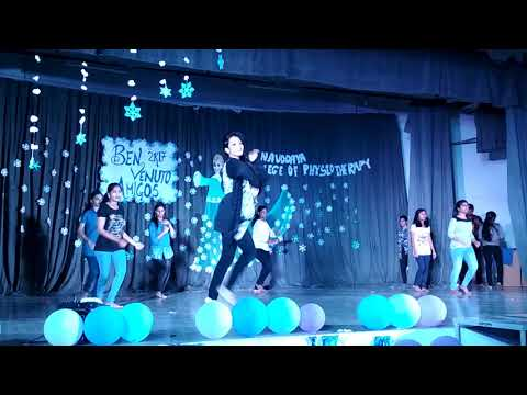 Navodaya College Of Physiotherapy, Raichur Freshers & Farewell 2017