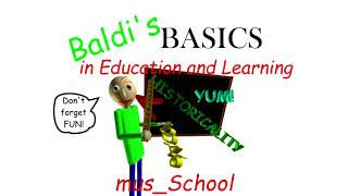 Baldis BASICS in education and learning Mus_school OST