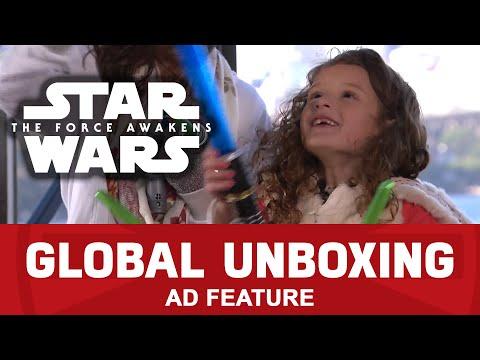 Bladebuilder Lightsaber Jedi Master Playset  – Star Wars Global Toy Unboxing