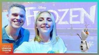 Disney's Frozen Press Night & Curtain Call   Opening Night VLOG!