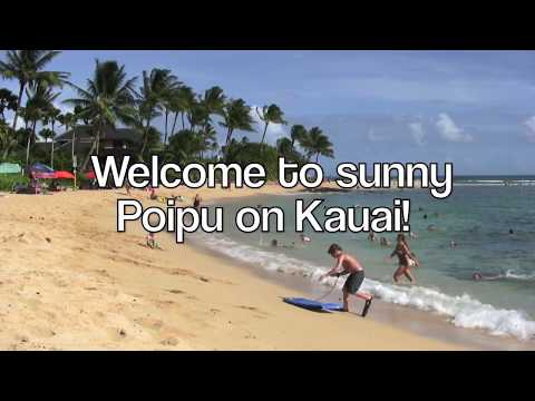 Gorgeous Kauai Direct Oceanfront Vacation Rental at Poipu Shores Resort