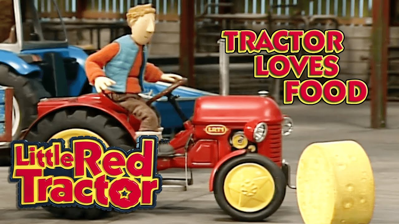 Little Red Tractor Loves Food!   Little Red Tractor