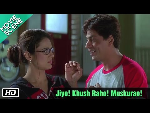 Jiyo! Khush Raho! Muskurao! - Movie Scene - Kal Ho Naa Ho - Shahrukh Khan, Preity Zinta