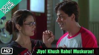 Jiyo! Khush Raho! Muskurao! - Movie Scene - Kal Ho Naa Ho - Shahrukh Khan, Preity Zinta thumbnail