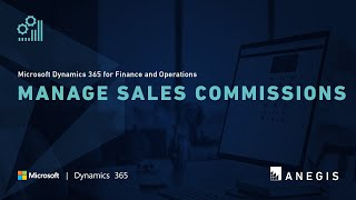 Dynamics 365 Operations: Manage Sales Commissions