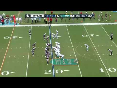 Knowshon Moreno Dolphins Highlights vs Patriots Week 1 2014