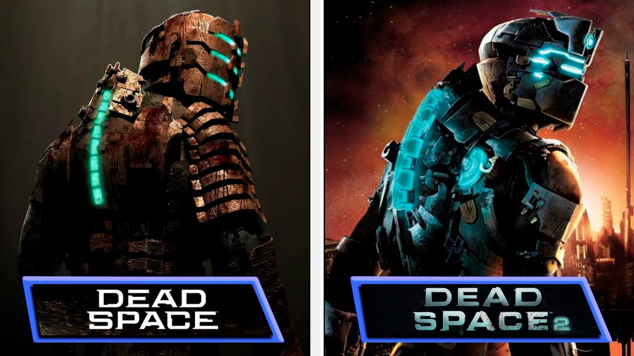 Dead Space VS Dead Space 2 | USG Ishimura Evolution