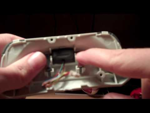 How To Take Apart An Xbox 360 Chat Pad