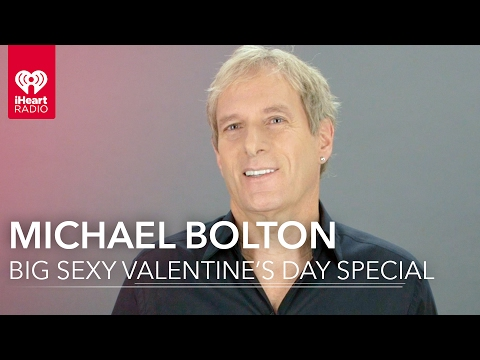 Michael Bolton's Big, Sexy Valentine's Day Special Interview