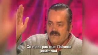 Risitas s'exprime sur le match France - Islande