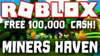 Twitter Codes | FREE 100,000$ | Roblox Miner's Haven REZ