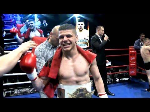 Albanian Florian Marku world's kick boxing champion  Muay Thai .