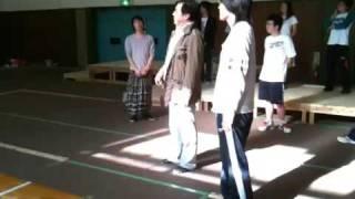 明治大学 文化プロジェクト ハムレットの原田大二郎先生によるダメ出し。