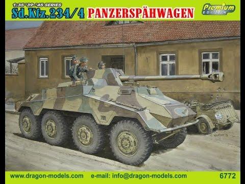 Dragon SdKfz 2344 Panzerspähwagen   Kit Review
